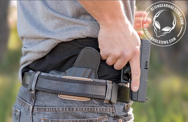 Alien Gear Holster for Glock 43 concealment
