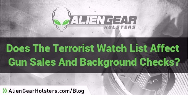 terror watch list and gun sales
