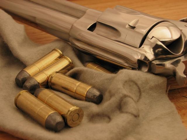 double action gun