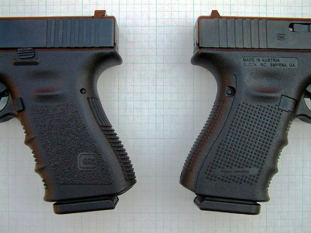 glock gen 3 vs glock gen 4