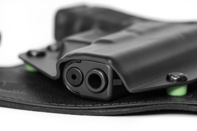 Glock 19 with personalized retention