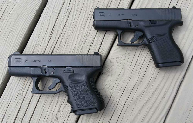 Glock 26 Vs Glock 43 Which Of The Baby Glocks To Get Alien Gear