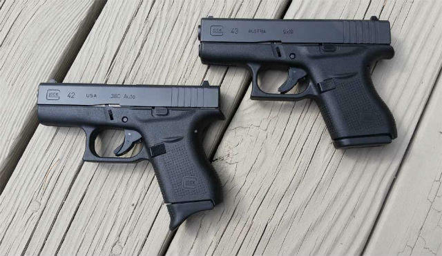 Glock 42 vs Glock 43 For Concealed Carry - Alien Gear Holsters Blog