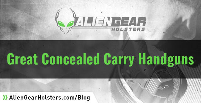 best handguns for concealed carry
