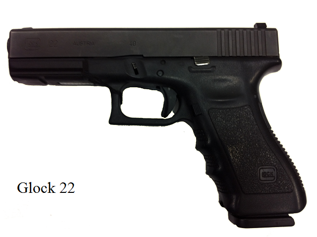 It is a Glock 22