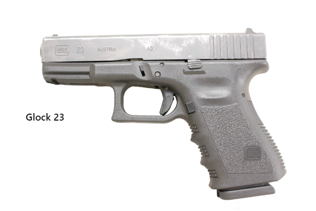 It is a Glock 23