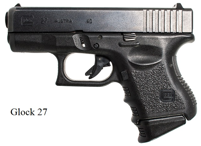 It is a Glock 27