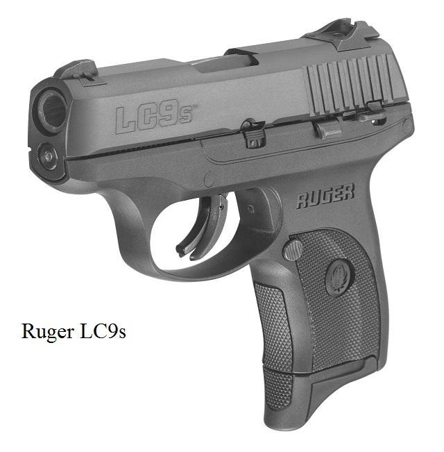 It is a Ruger LC9s
