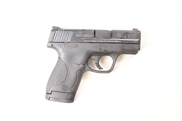 Is it a S&W M&P Shield 9mm