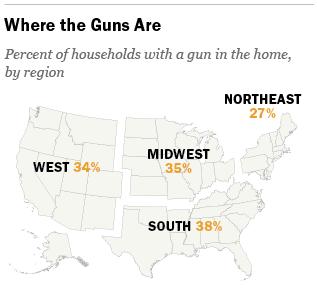 American gun owner statistics