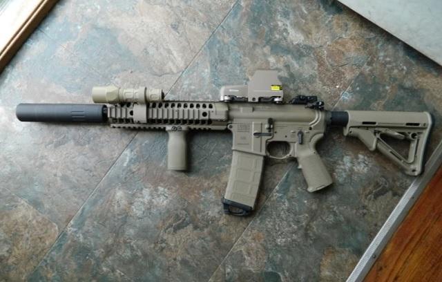 handgun coating