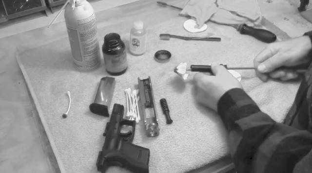 increased maintenance for handgun cleaning