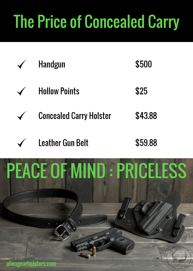 handgun ownership costs