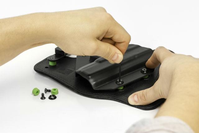 Adjusting Alien Gear Holsters hardware