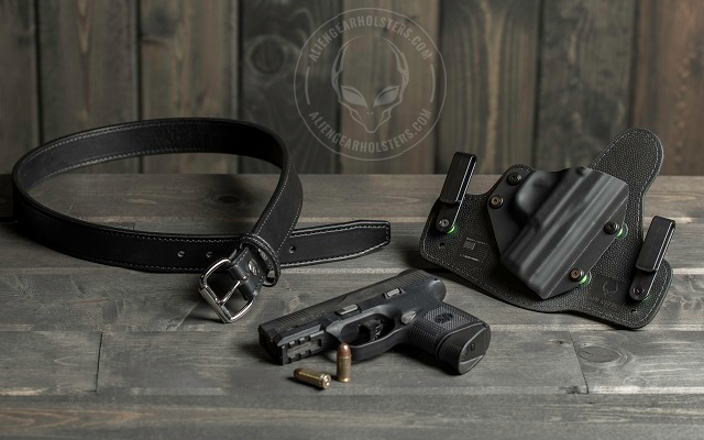 ccw holster and gun
