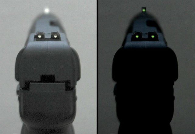 pistol night sights