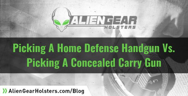 home defense vs ccw