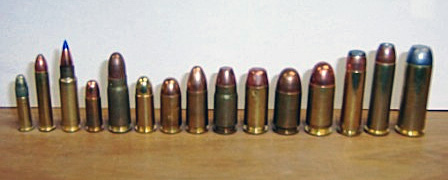 calibers for pistols