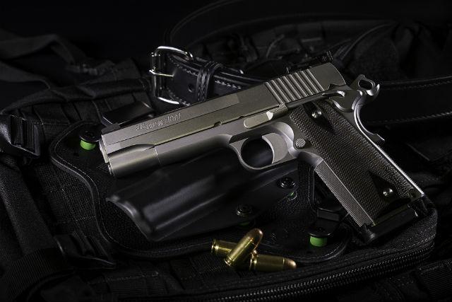 single action gun
