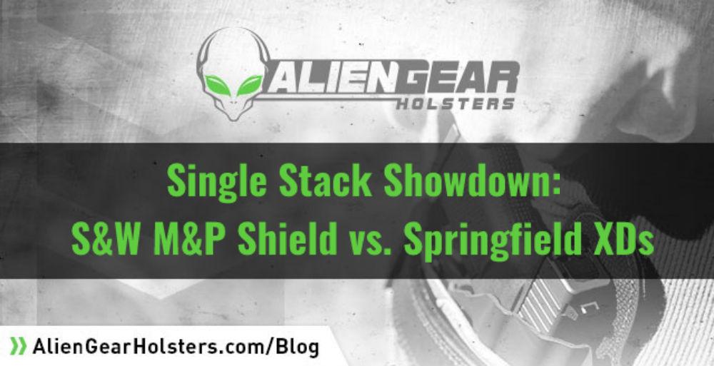 Single Stack Showdown: S&W M&P Shield vs Springfield XDs