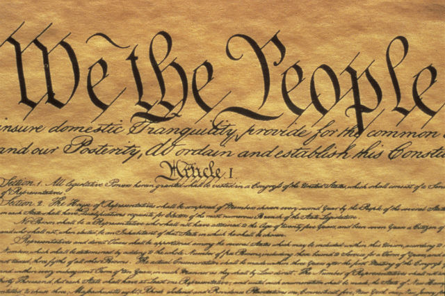 The Preamble of the U.S. Constitution