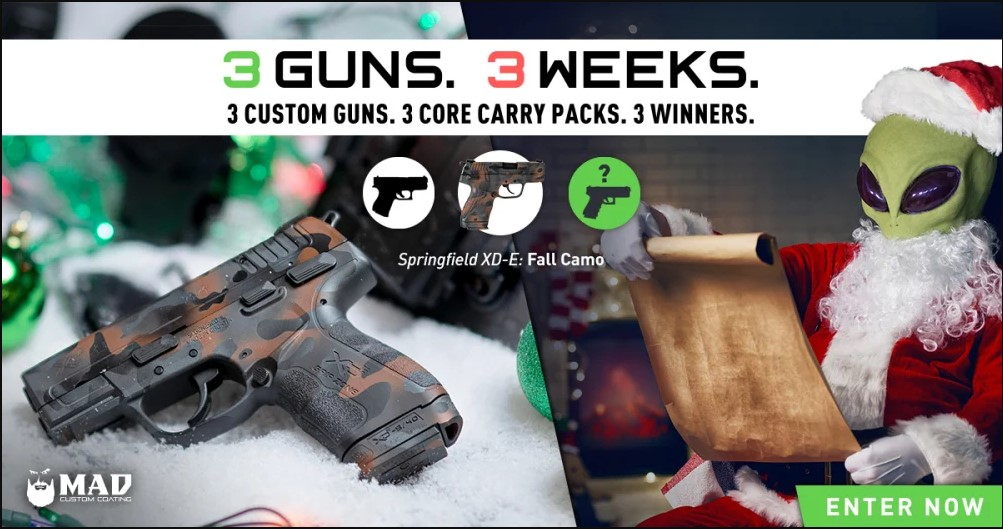 3 weeks 3 guns giveaway