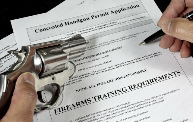 where to take concealed weapons permit