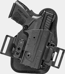 concealable owb belt slide holster