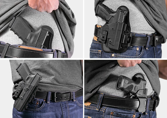 holster for OWB and IWB carry