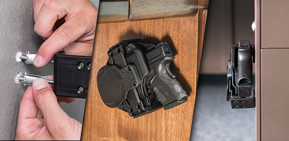 installing the holster mount