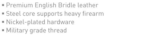 Features in a Good Gun Belt