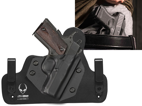 Leather Hybrid 1911 3.5 inch Holster