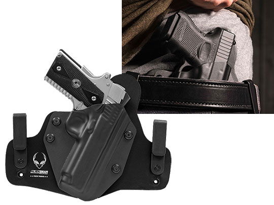 1911 4 inch Hybrid Holster for IWB Carry