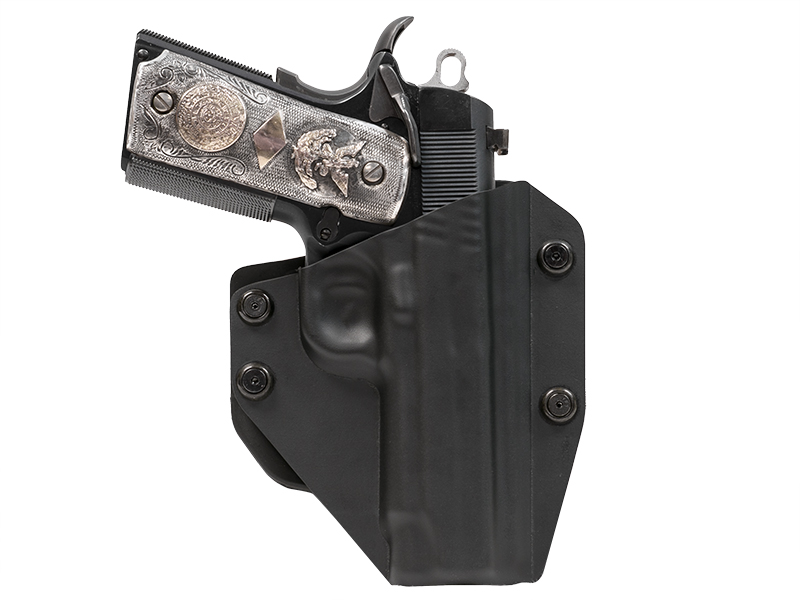 OWB Carry with the 1911 4.25 inch Paddle Holster