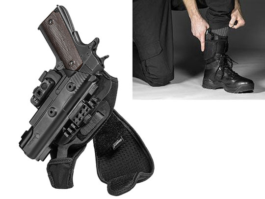 1911 5 inch ShapeShift Ankle Holster