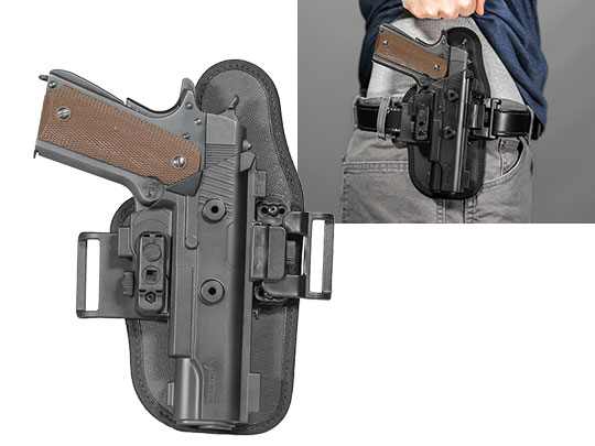 1911 - 5 inch ShapeShift OWB Slide Holster