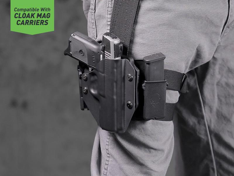 Springfield XDm 45ACP 4.5 inch Cloak Mod Drop Leg Holster