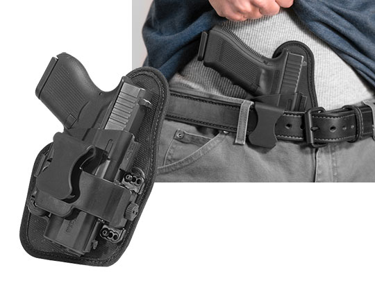 Glock 27 appendix carry holster