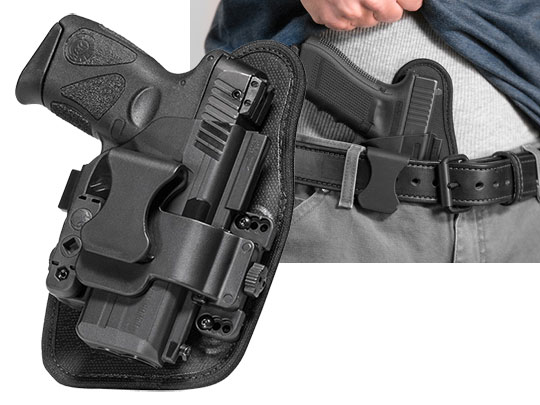 Walther PPQ 4 inch 9mm/40cal ShapeShift Appendix Carry Holster
