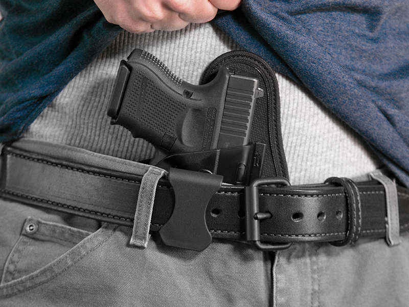 how to wear a glock 26 aiwb holster