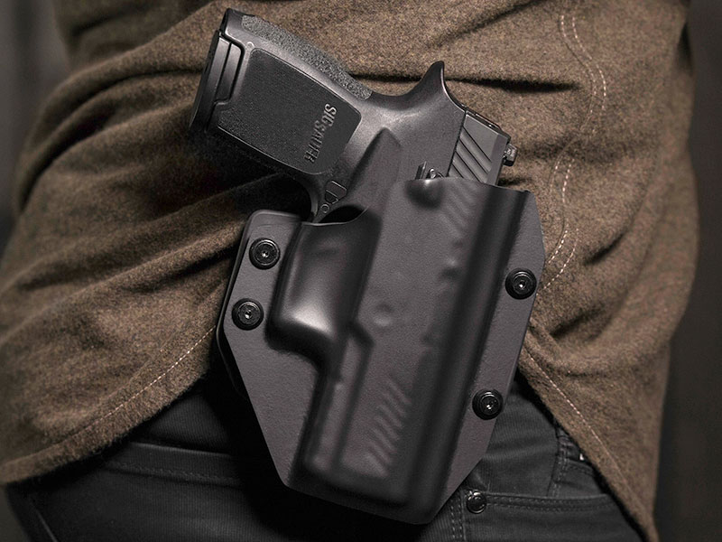 Sig P320 Compact/Carry Outside the Waistband Paddle Holster