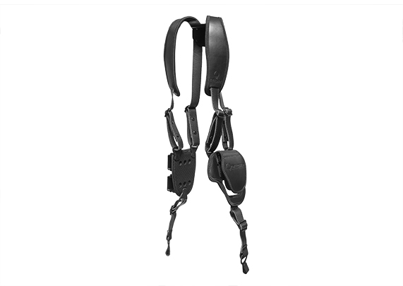black shapeshift shoulder holster expansion pack