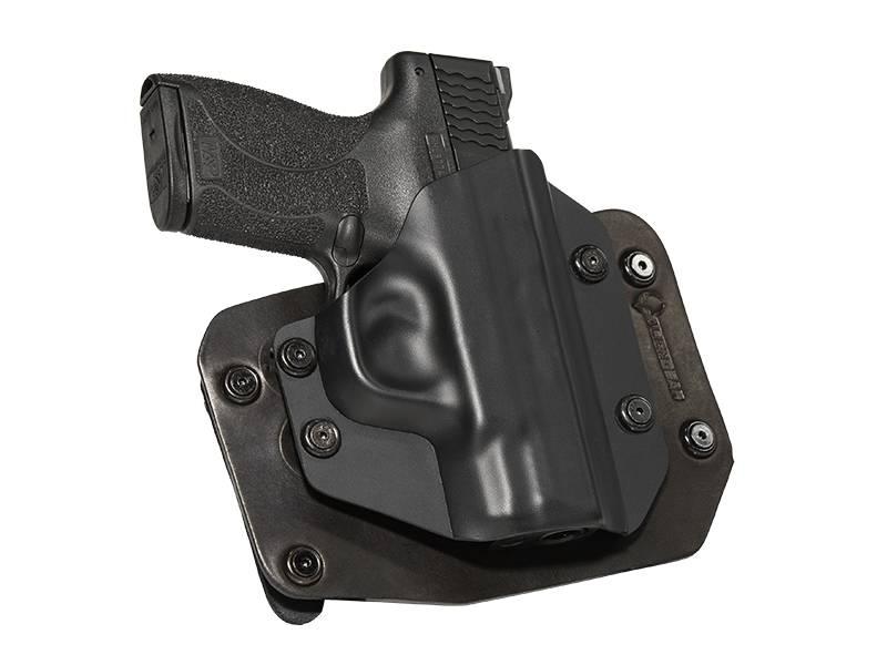 Glock - 23 with Crimson Trace Defender Laser DS-121 Cloak Slide OWB Holster (Outside the Waistband)