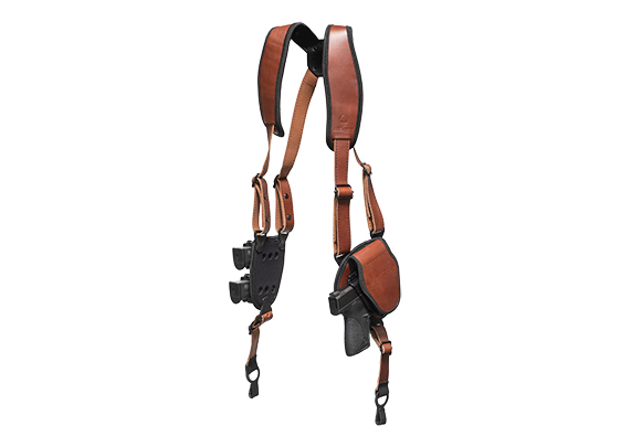 brown shapeshift shoulder holster