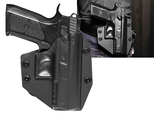 CZ PO7 Paddle Holster for OWB Carry