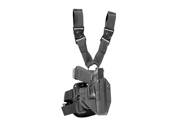 CZ P09 Suppressor Ready Cloak Mod Drop Leg Holster