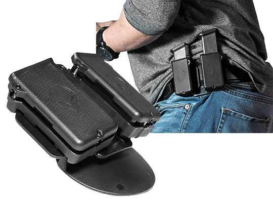 Tactical Dual Double-Stack Magazine Pouch Mag Holster pistol mag pouch SALE!!