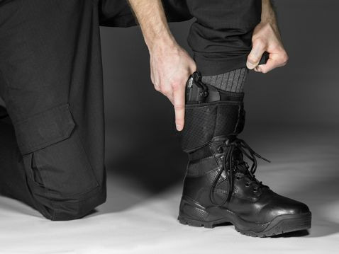 ankle holster with boots