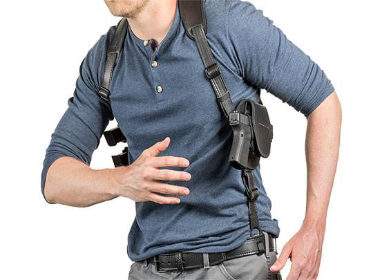 Tactical Shoulder Holster for Sig//Sauer P-365 With Laser