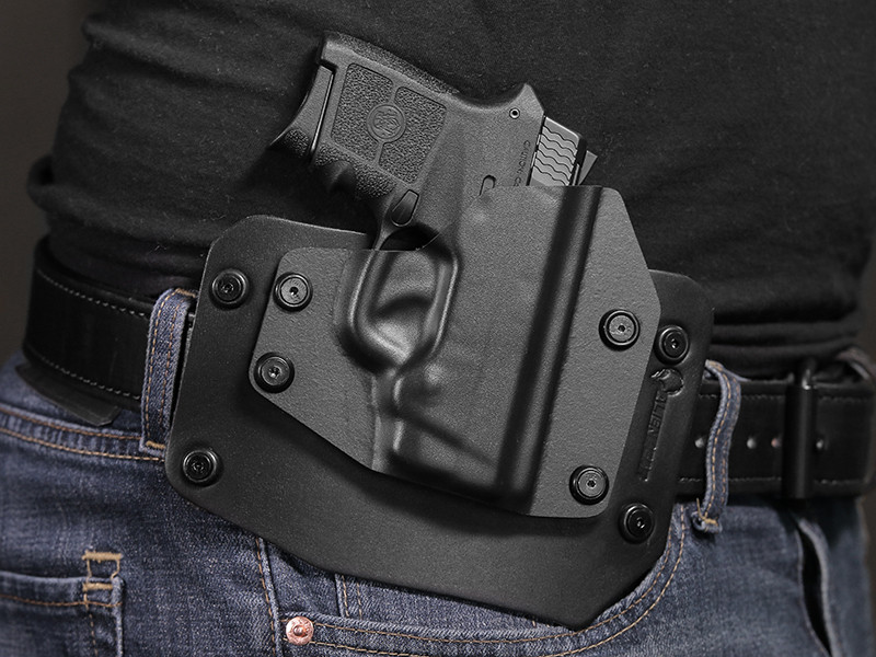 THE ULTIMATE OWB GUN HOLSTER FOR SMITH /& WESSON BODYGUARD 380 WITH LASER